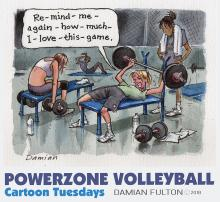 Volleyball Game Workout